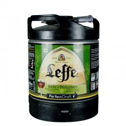 Mini Fût Leffe de Printemps 6L  (Perfect Draft)