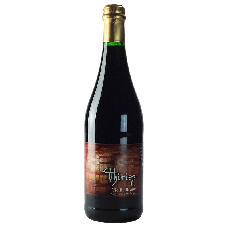 Biere Vieille Brune Thiriez 75 cl