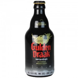 Gulden Draak 9000 Quadruple 33 cl - bière