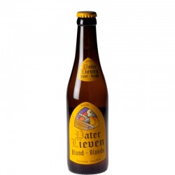 Pater Lieven Blonde 33 cl - Bière Belge