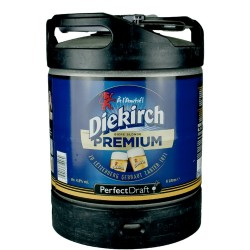 Mini Fût Diekirch Premium 6L (Perfect Draft) - Bière