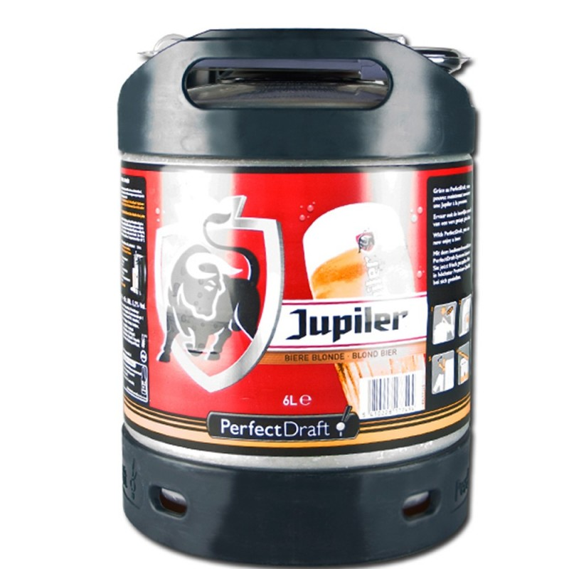 Mini Fût Jupiler 6L (Perfect Draft)  Bière blonde