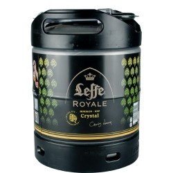 Mini Fût Leffe Royale Crystal 6L (Perfect Draft) - Bière