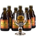 Lot de 6 Mont des Cats 33 cl + 1 verre