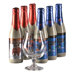 Lot de 6 Delirium Tremens 33 cl + 1 verre