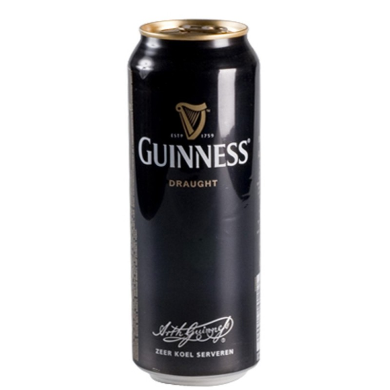 Boite Draught Guinness 50 cl
